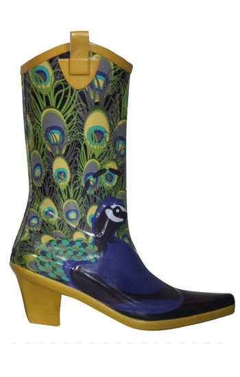 Cowgirl Rain Boots - Cr Boot