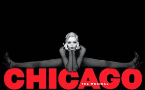 CHICAGO logo girl