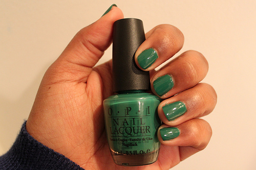 OPI Jade is the new black