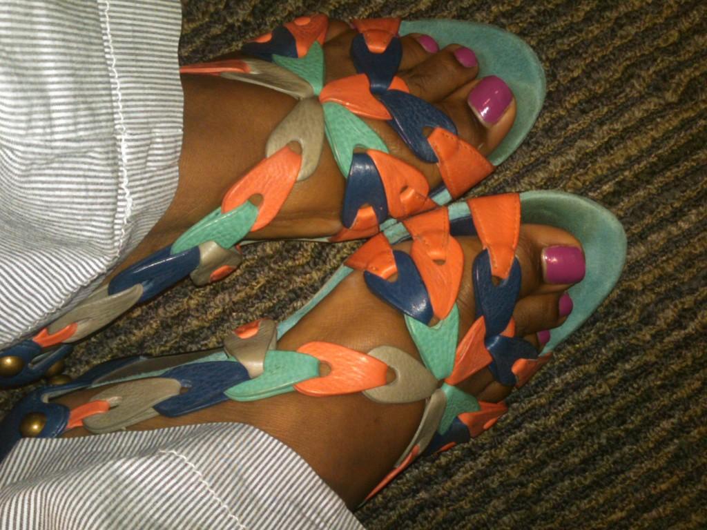Hayden-Harnett Iskia sandals