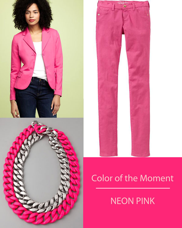 Color of the moment, neon pink
