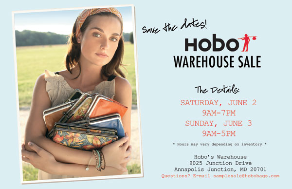 HOBO Bags June 2012 Sample Sale